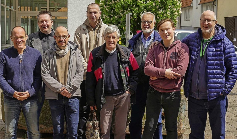 Fröhliche Gesichter: die Aufstiegsmannschaft des Schachclubs Sölden    Foto: privat