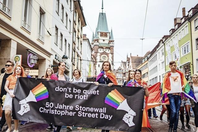 Zehntausend demonstrieren für sexuelle Toleranz