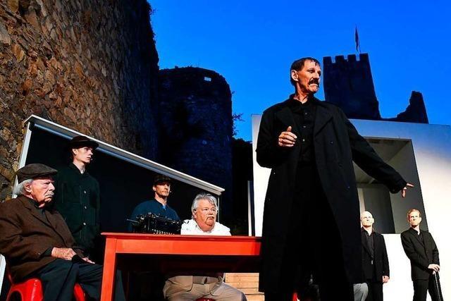 Premiere der Burgfestspiele Rötteln mit dem Stück