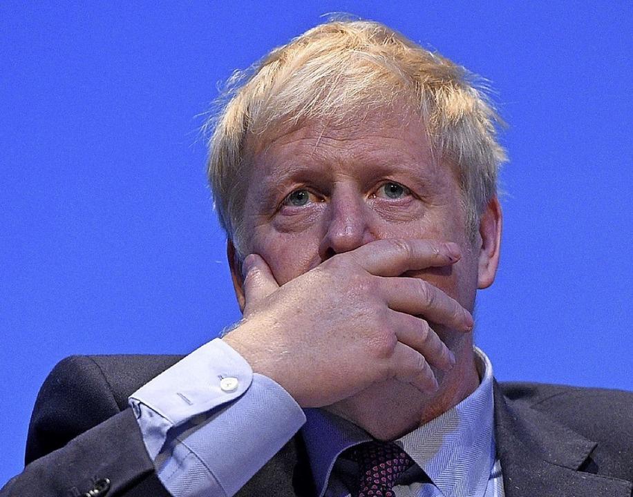 Boris Johnsons (Bild) Vorsprung auf se...ner Jeremy Hunt beginnt  zu schmelzen.  | Foto: OLI SCARFF (AFP)