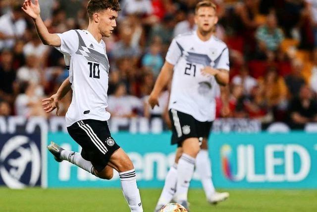 Luca Waldschmidt schießt Traumtor im Spiel der U21 gegen Österreich