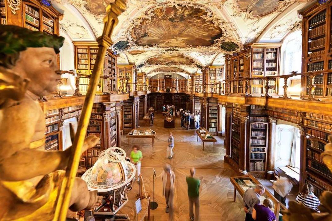 Wahrzeichen und Welterbe: die St. Galler Stiftsbibliothek  | Foto: (c) Daniel M. Frei - info@shotme St.Gallen-Bodensee Tourismus