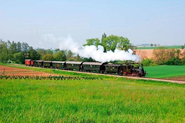 Der Mitmachtag der Kandertalbahn kommt bei den Eisenbahnfans an