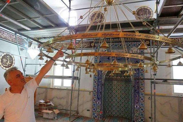 Die Rheinfelder Moschee erstrahlt in neuem Glanz