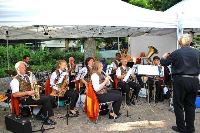 In Rheinfelden wurde drei Tage lang unter den Kastanien gefeiert