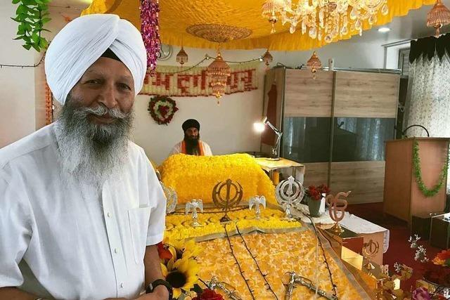 Seit sechs Jahren gibt es eine Sikh-Gemeinde in der Stadt