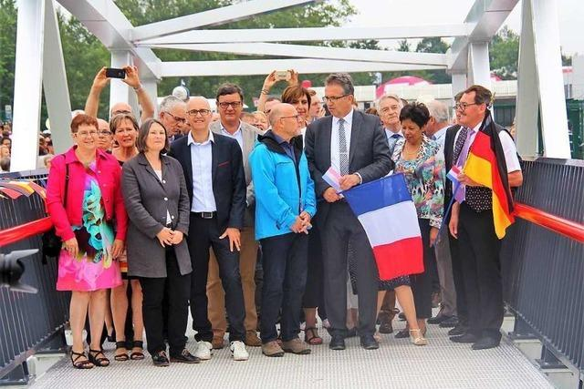 Eine weitere Brücke über den Rhein ist eröffnet