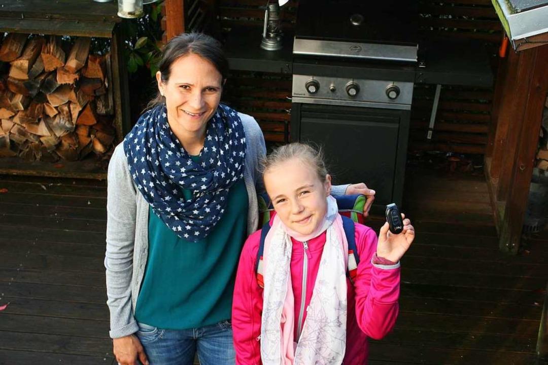 Unter Beobachtung: Letizia wurde von ihrer Mutter Nadine zwei Tage getrackt.  | Foto: Hutt