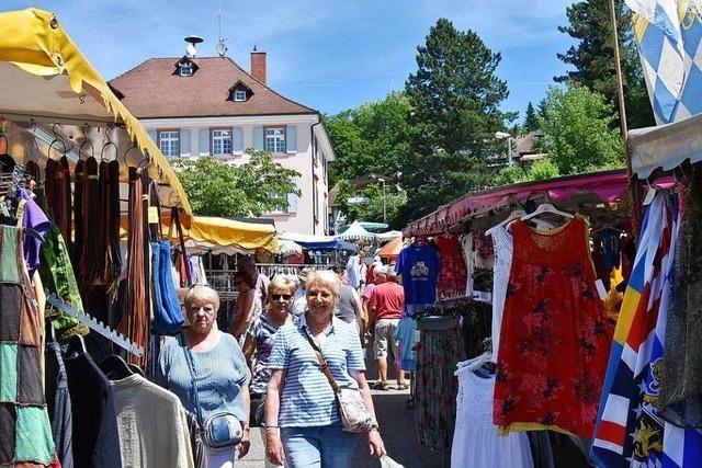 Johannimarkt 2019 in Grenzach-Wyhlen