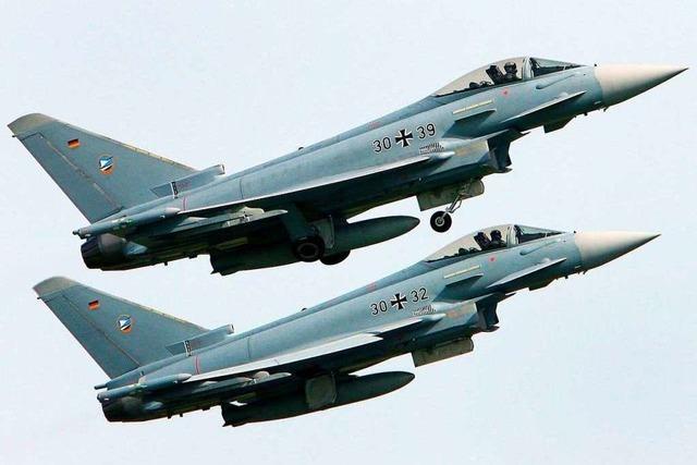 Zwei Eurofighter der Bundeswehr in Mecklenburg-Vorpommern abgestürzt