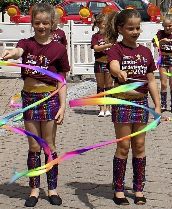 Die Lollipopgirls in Aktion.  | Foto: Adelbert Mutz