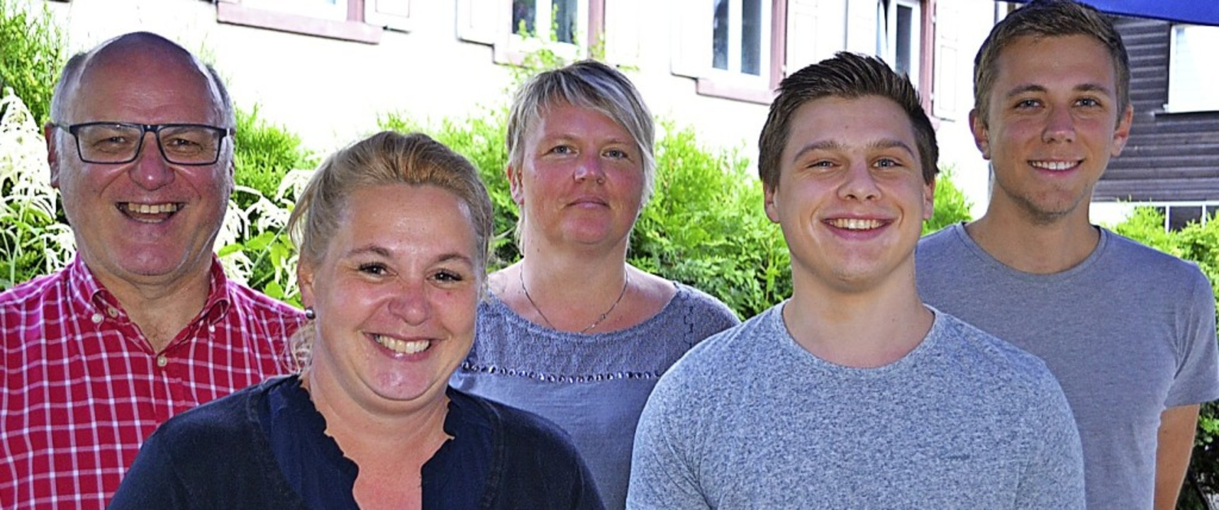 Die neuen Gemeinderäte Bernhard Klause...freuen sich auf ihre Aufgaben (v.li.).  | Foto: Paul Berger
