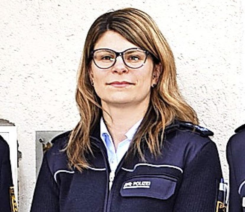 Marion Becker ist seit 2001 bei der Po... Jetzt kam sie  zum Schönauer  Posten.  | Foto: Ulrike Jäger