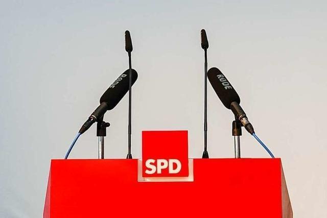 SPD will eine Doppelspitze möglich machen