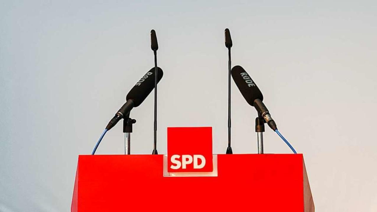 Wie geht es mit der SPD weiter?  | Foto: Peter Endig (dpa)