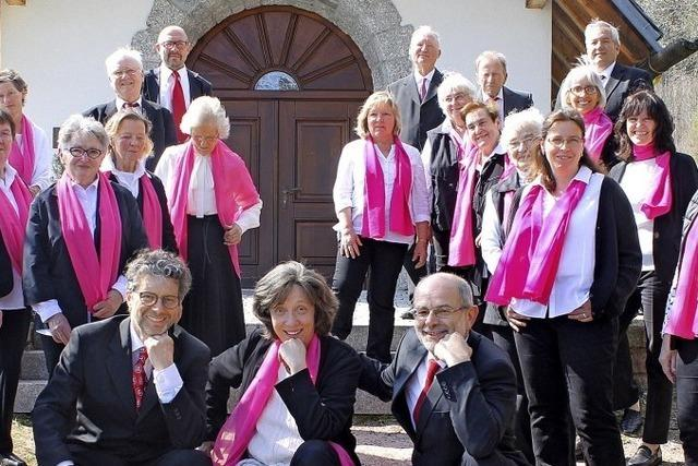 Seit 90 Jahren ist der Chor ein wichtiger Teil des kirchlichen Lebens