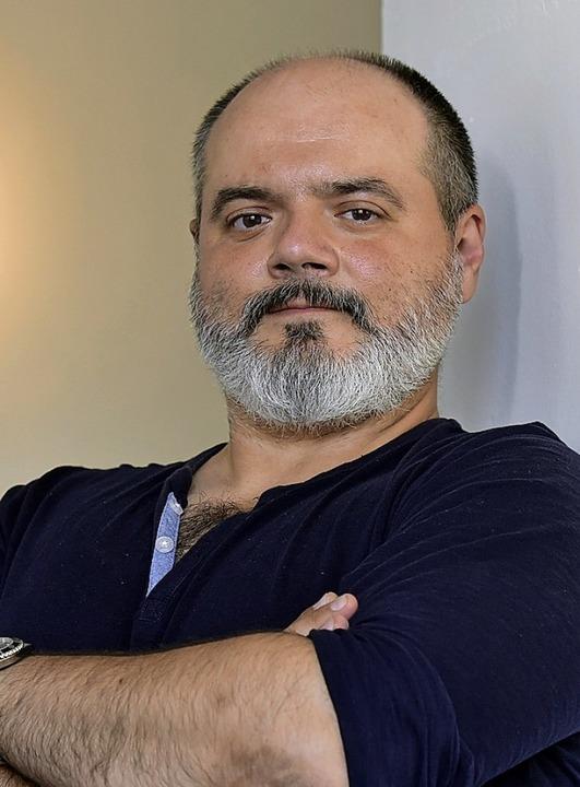 Moderator Roberto Gionfriddo  | Foto: Thomas Kunz