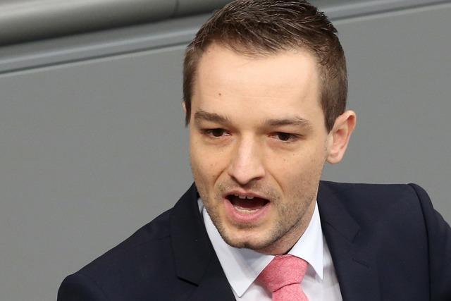 FDP-Abgeordneter Strasser: