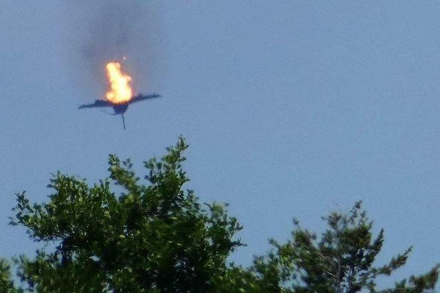 Ursachensuche nach Absturz von zwei Eurofightern geht weiter