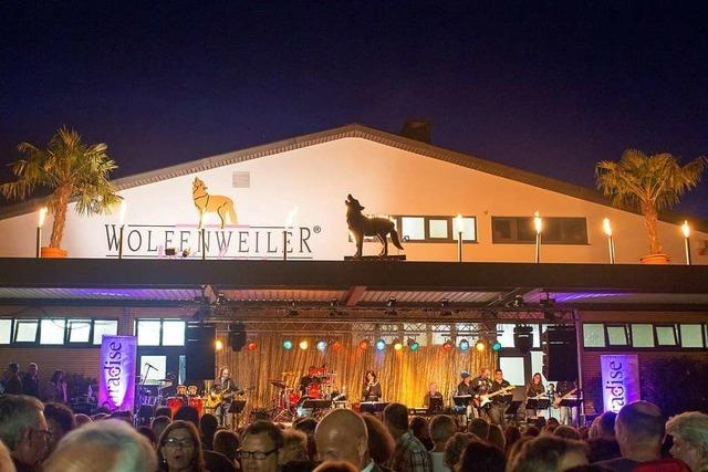 Die WG Wolfenweiler hat ihren 80. Geburtstag mit einem großen Fest gefeiert