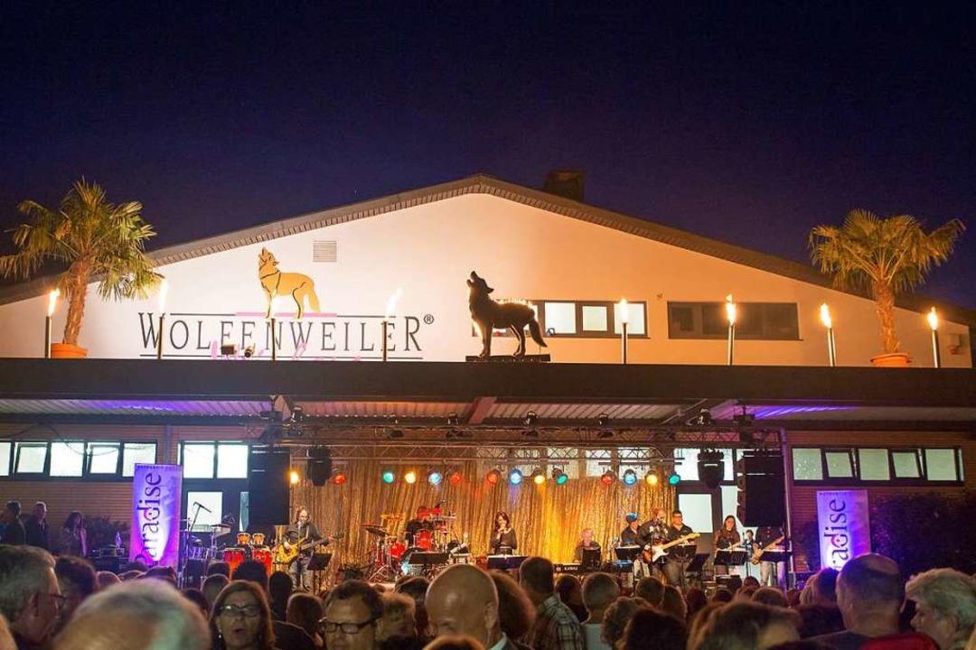 Die WG Wolfenweiler ihren 80. Geburtstag mit einem großen Fest gefeiert.  | Foto: Winzergenossenschaft Wolfenweiler