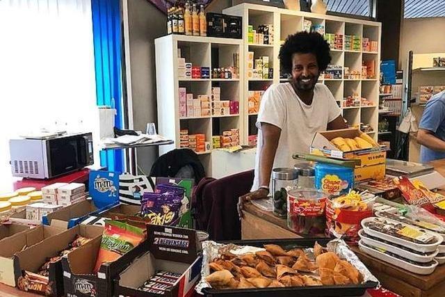 Zu Besuch im Asia Afro Latino Markt in der Schreiberstraße