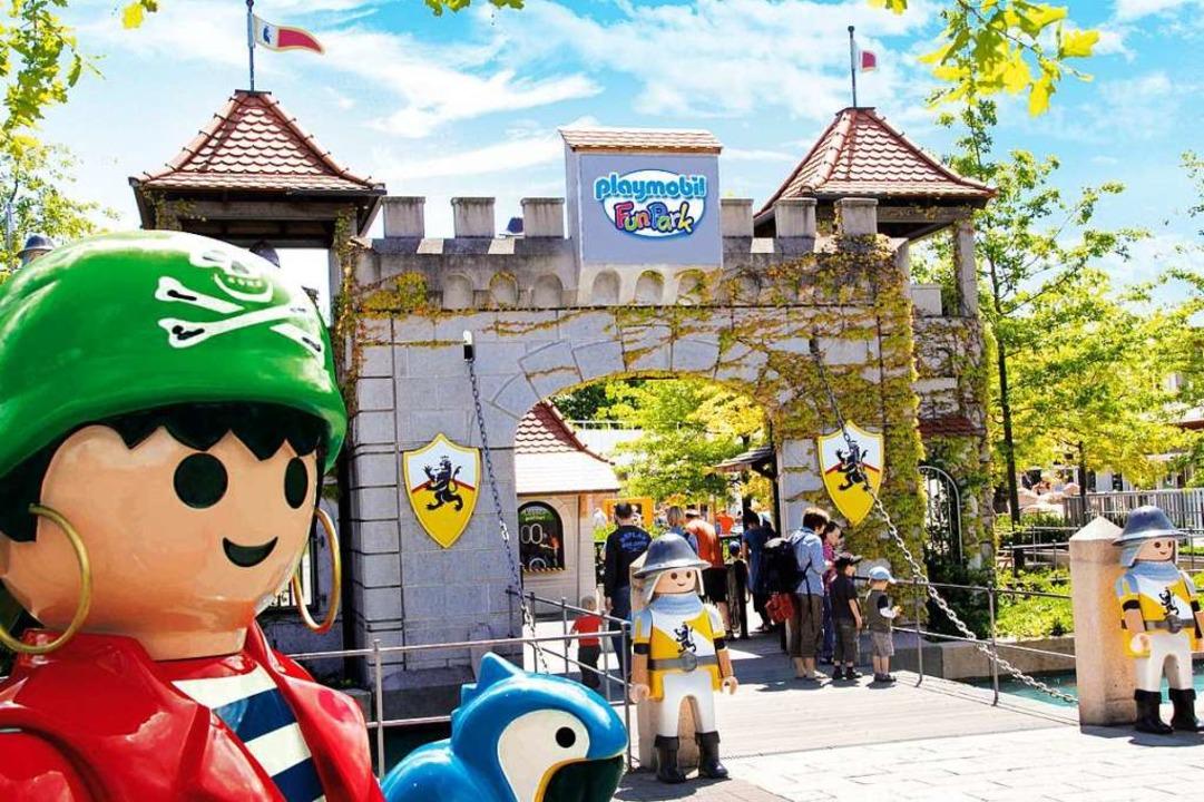 Abenteuer im Playmobil-Funpark  | Foto: Playmobil-Funpark/ geobra