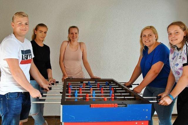 Der neue Jugendraum in Pfaffenweiler ist eröffnet