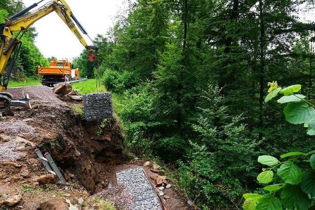 Straßensanierung zwischen Bad Säckingen und Egg kommt gut voran