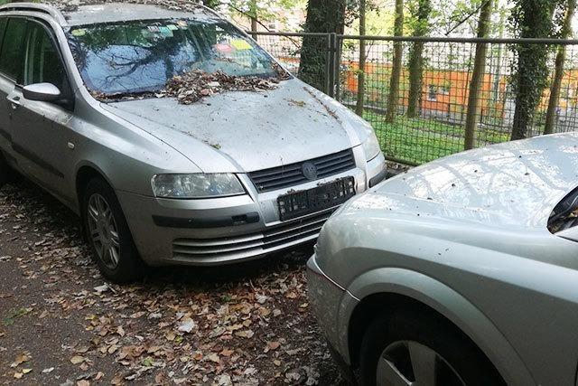Wie Lörrach mit abgestellten Schrottautos umgeht