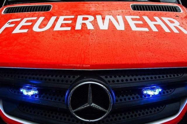 Mehrstündiger Feuerwehreinsatz in Eichstetten