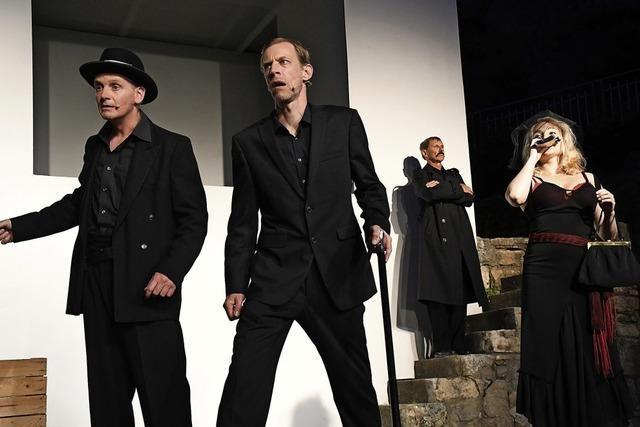 Burgfestspiele Rötteln spielen Brechts