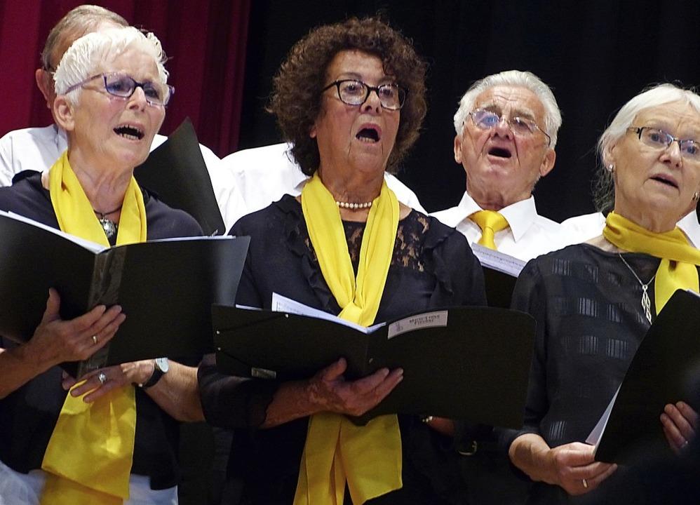 Sommerkonzert Gesangverein Teningen    Foto: Aribert Rüssel