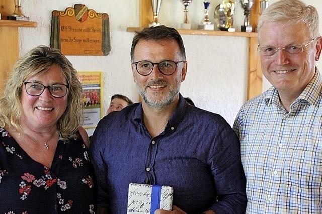Johann Bachhofer bleibt Vorsitzender