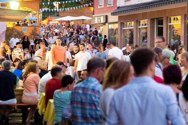 Am Freitag startet das Müllheimer Stadtfest mit Musik und Oldtimern