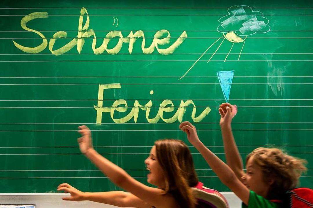 Die Pfingstferien sind gerade rum, da ... die Sommerferien planen (Symbolbild).  | Foto: Armin Weigel