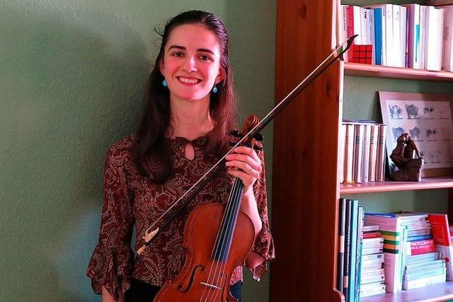 Geigerin Esther Danckaert ist erfolgreich bei Jugend musiziert