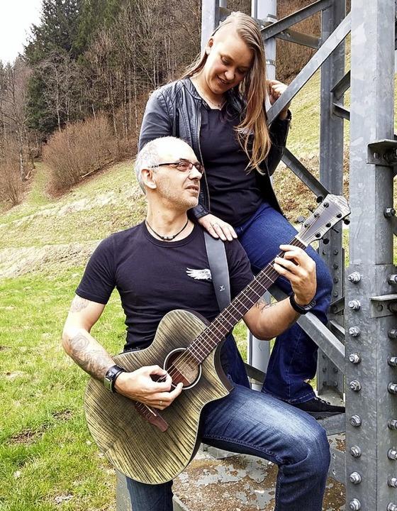 """Tanja und Achim Raufer bilden das Duo """"GemeinsamEins"""".    Foto: Privat"""