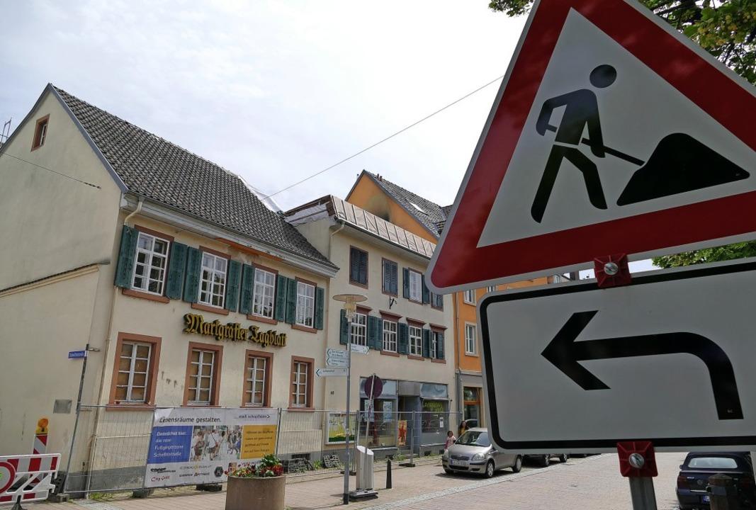 Wie geht's weiter mit den Uehlin-Häusern?   | Foto: André Hönig