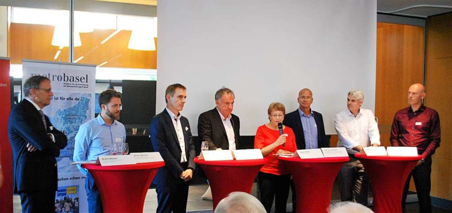 Über Digitalisierung diskutierten beim... Jan Olaf, Lukas Ott und Thomas Berger  | Foto: Thomas Loisl Mink