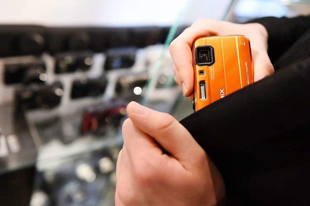 Teure und kleine Elektronik – eine beliebte Beute  | Foto: Felix Kästle