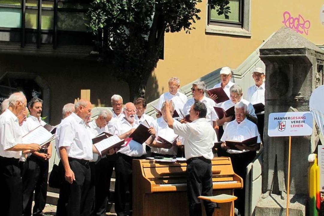 Viele Chöre aus dem Breisgau werden am Samstag in der Stadt singen.  | Foto: privat