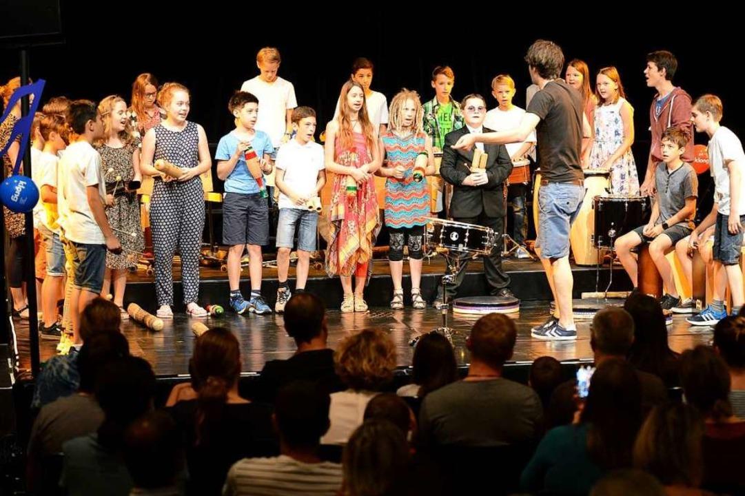 Eine Woche dauert das Kindermusikfesti...uli   sein Finale im Stadttheater hat.  | Foto: Rita Eggstein
