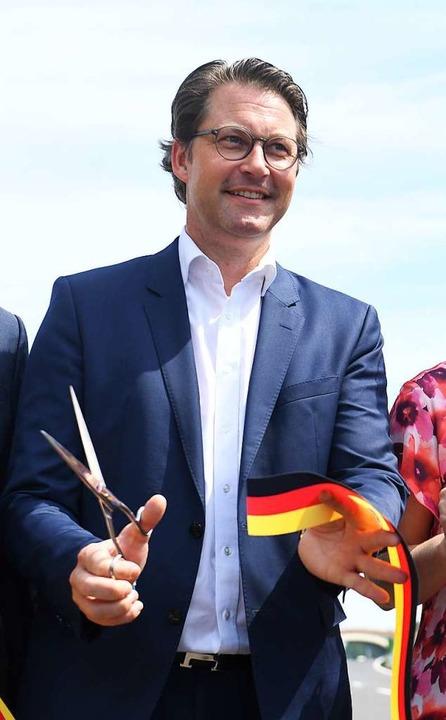 Verkehrsminister Andreas Scheuer   | Foto: Stefan Sauer (dpa)