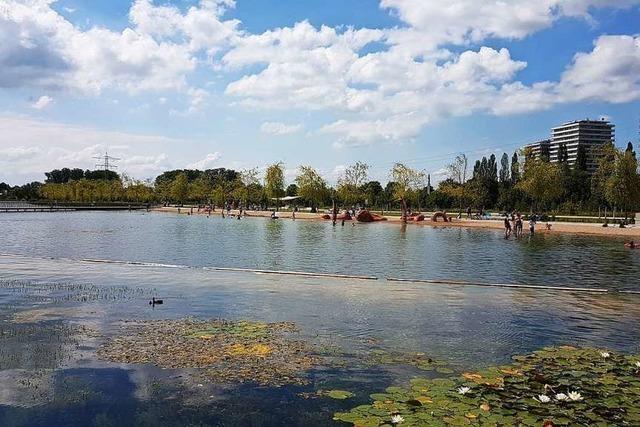 Was die Sommerhitze für Lahrer Badeseen bedeutet