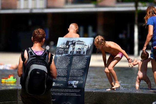Befriedung des Konflikts um den Synagogenbrunnen bleibt fraglich