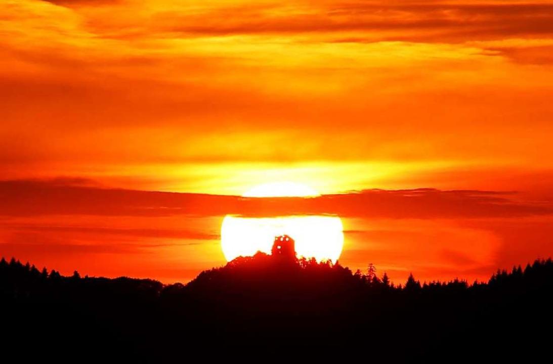 Der Sonnwendlauf findet statt – vielleicht sogar bei diesem Anblick.  | Foto: Harald Kurz