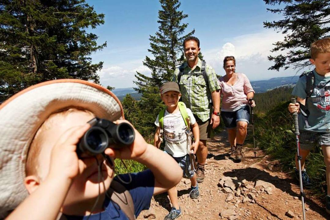 Im Hochschwarzwald gibt es viele tolle Erlebnispfade für Kinder und Erwachsene.  | Foto: Hochschwarzwald Tourismus GmbH