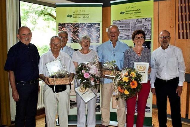 Die Baugenossenschaft Haltingen-Weil ist gut gerüstet für die Zukunft