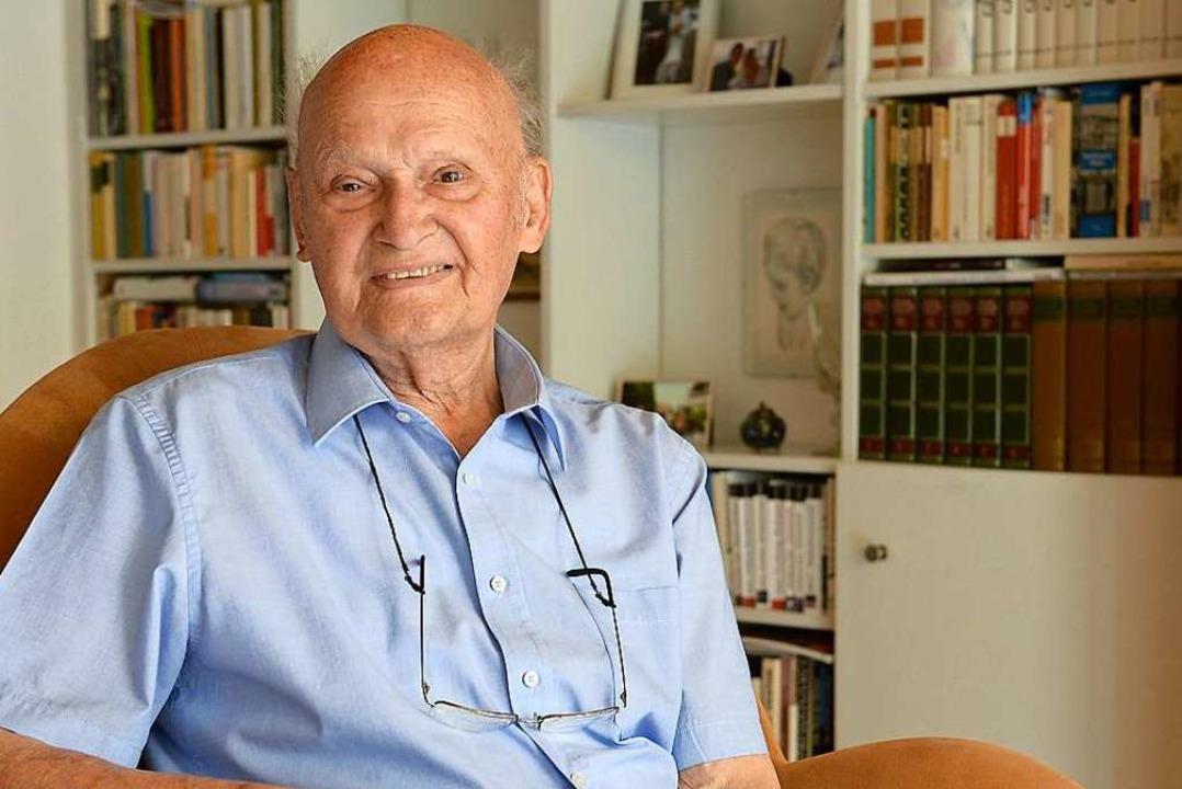 Wolfgang Kreis ist 1928 in Leipzig geboren.    Foto: Ingo Schneider